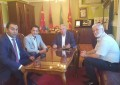 Z.Nexhdet Mustafa vizitoi BFI dhe Reisul Ulema h. Sulejman ef. Rexhepi