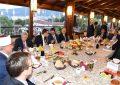Iftar tradicional i shtruar nga Reisul Ulema h. Sulejman ef. Rexhepi
