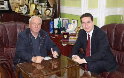Reisul Ulema u takua me deputetin e VMRO, Gjorçev